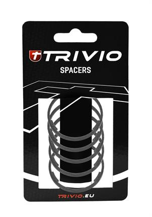 Trivio Spacer Carbon 2mm 1 1/8 Inch - Zwart (5)